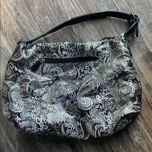 Handbags - Black and silver Shoulder bag